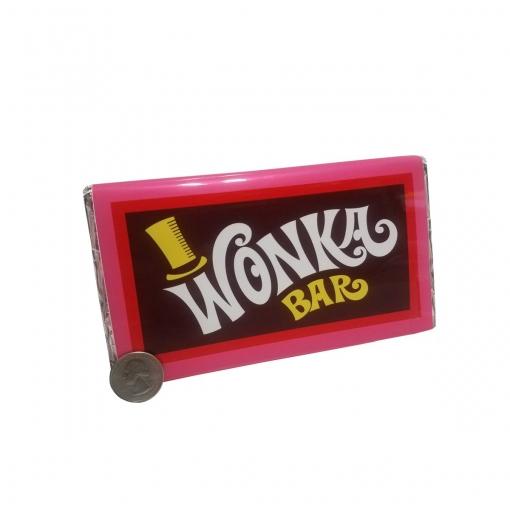 Replica Wonka Bar candy bar prop - Willy Wonka