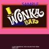 Willy Wonka Bar Sample Candy Bar Wrapper