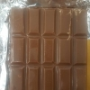 Homemade Wonka Bar chocolate