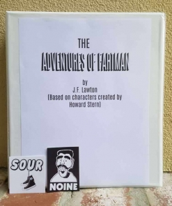 Howard Stern Fartman Movie Script / Screenplay