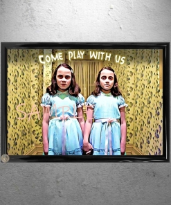 The Movie Shining Girls Framed Poster Print