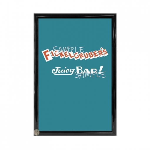 Fickelgrubers Candy Bar Poster - Willy Wonka