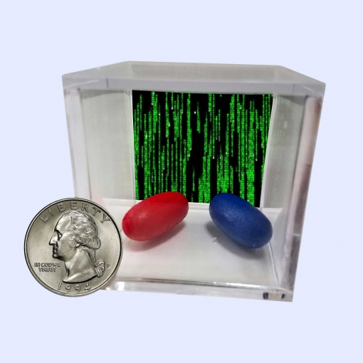 The Matrix Blue Pill and Red Pill Display 3