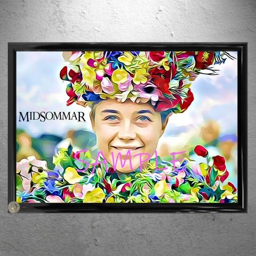 Midsommar Framed Florence Pugh Drawing