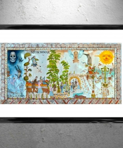 Midsommar Opening Mural Framed Art Artwork - Poster Print