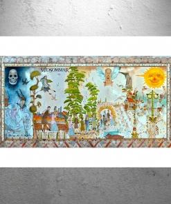 Midsommar Opening Mural Art Artwork - Poster Print