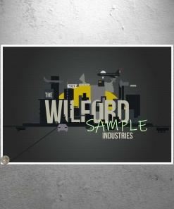 Wilford Inustries Snowpiercer Propaganda Poster Print