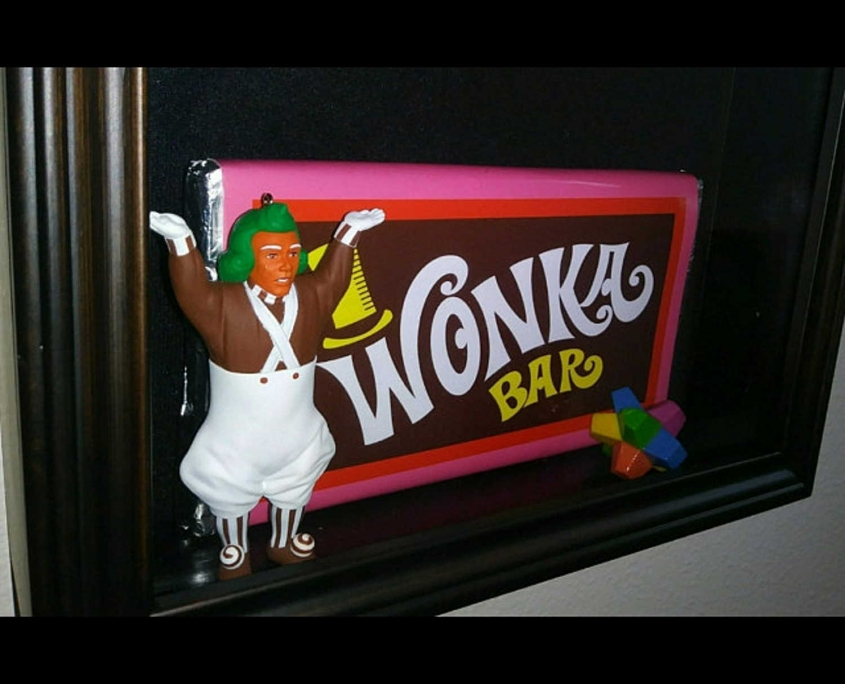 Willy Wonka Bar - Oompa Loompa and Everlasting Gobstopper