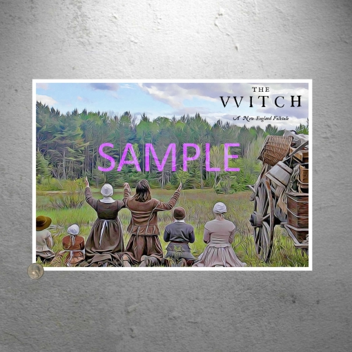 The Witch Movie Art Artwork Poster Print Family Photo