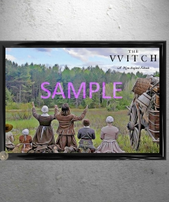 The Witch Movie Framed Art Artwork Poster Print