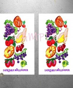 Willy Wonka Lickable Wallpaper Print Poster