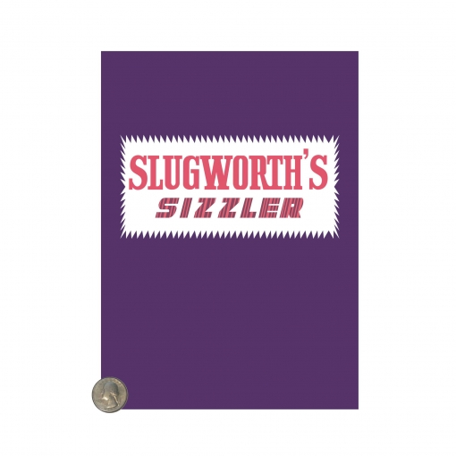 Willy Wonka Slugworth Sizzler wrapper