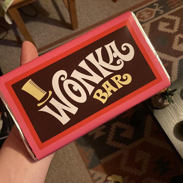 Wonka Bar Replica photo