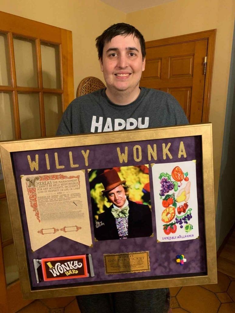 Willy Wonka replica items