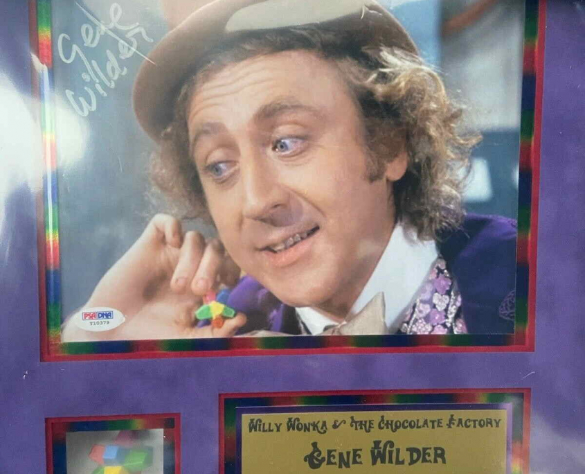 Willy Wonka with Everlasting Gobstopper Art Piece